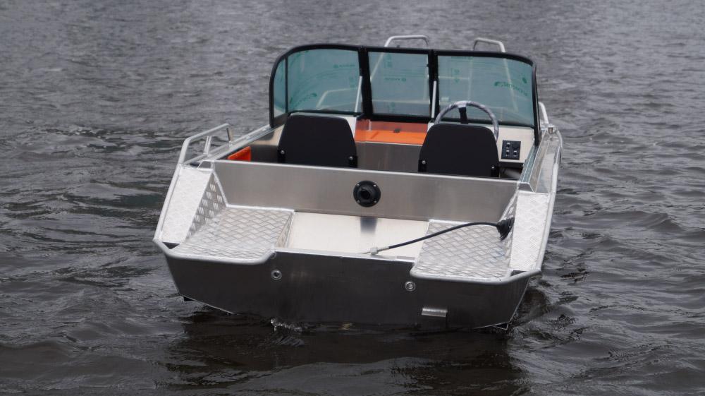 моторная лодка алюминиевая 450 беркут