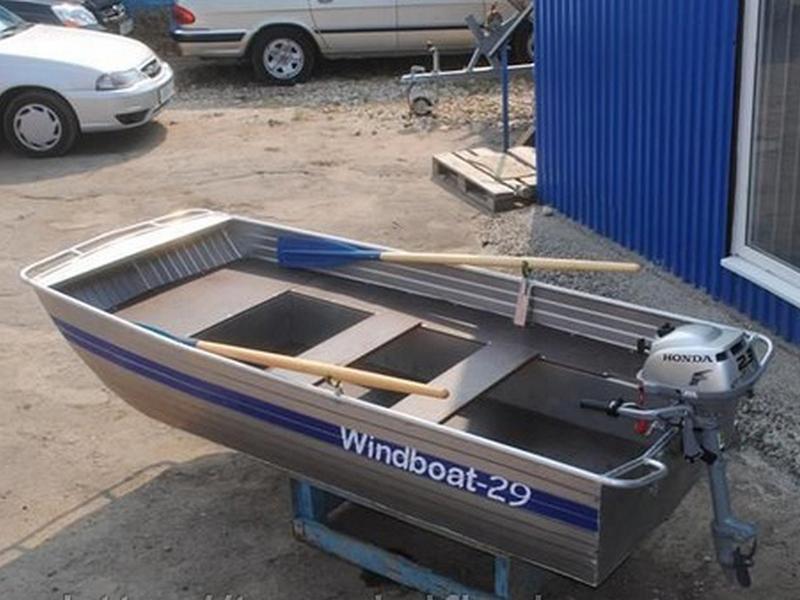 купить алюминиевую лодку виндбот 38м